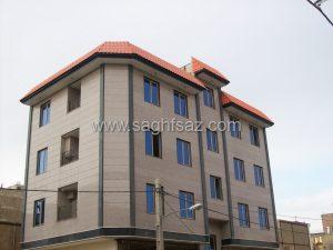 اجرای پیشانی ساختمان